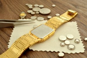 Button Batteries in a Watch